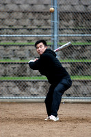 Billy During Batting Practice at 2009 Tahoe Camping Trip