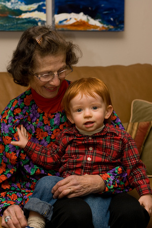 Great Grandma Bucich and Jack